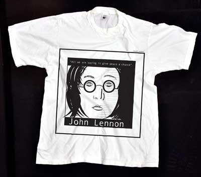 John Lennon - displaced