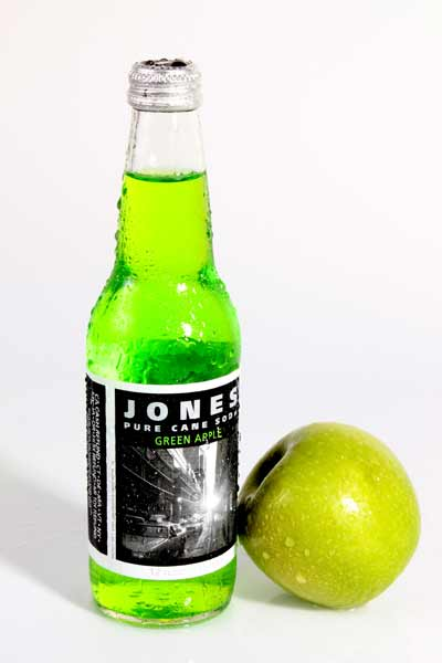 Jones soda with an apple.